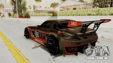 Mercedes-Benz SLS AMG GT3 PJ4 para GTA San Andreas interior