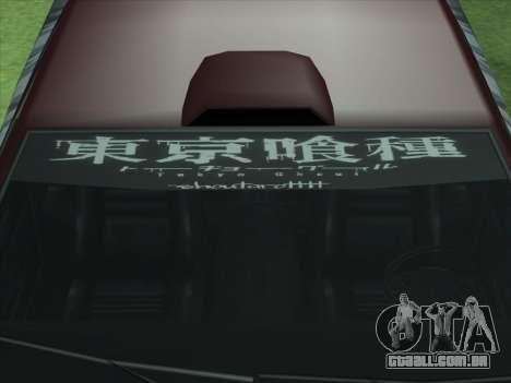 The Ghoul Elegy Vinyl (Beta) para GTA San Andreas vista traseira