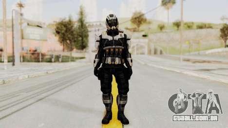 Mass Effect 3 Shepard Ajax Armor with Helmet para GTA San Andreas segunda tela
