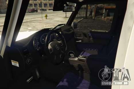 GTA 5 2013 Mercedes Benz G65 AMG [Replace] voltar vista