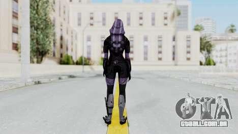 Mass Effect 3 Tali Zorah Vas Normandy para GTA San Andreas terceira tela