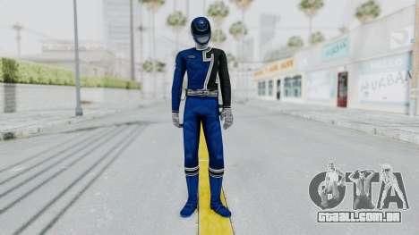 Power Rangers S.P.D - Blue para GTA San Andreas segunda tela