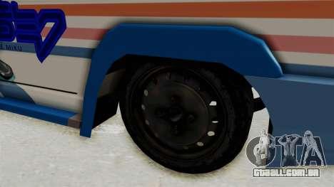 Toyota Kijang Miku Itasha Version para GTA San Andreas vista traseira