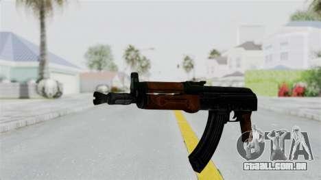 AK-47U para GTA San Andreas segunda tela