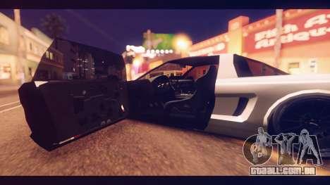 Infernus Shark Edition by ZveR v1 para GTA San Andreas traseira esquerda vista