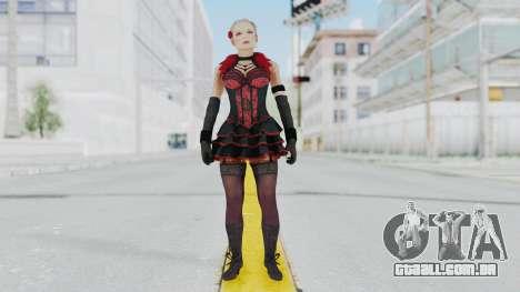 Black Ops 3 - Jessica Rose para GTA San Andreas segunda tela