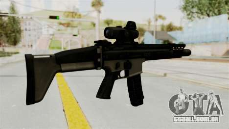 SCAR MK16 para GTA San Andreas segunda tela