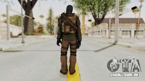 CoD AW KVA LMG para GTA San Andreas terceira tela