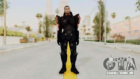 Mass Effect 3 Shepard N7 Destroyer Armor para GTA San Andreas segunda tela