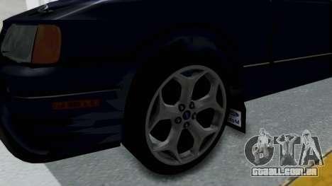 Ford Sierra Turnier 4x4 Saphirre Cosworth para GTA San Andreas vista traseira