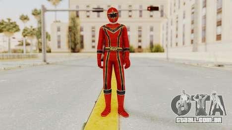 Power Rangers Mystic Force - Red para GTA San Andreas segunda tela