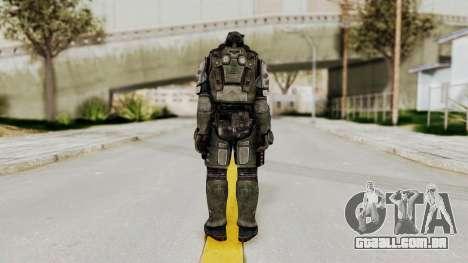 F.E.A.R. 2 - Replica Heavy Soldier para GTA San Andreas terceira tela