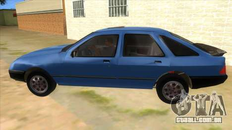 Ford Sierra 1.6 GL Updated para GTA San Andreas esquerda vista