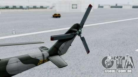 Mi-24V GDR Air Force 45 para GTA San Andreas vista direita