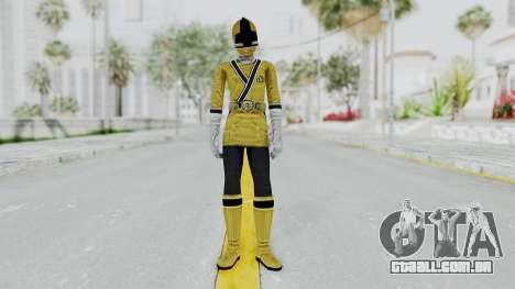 Power Rangers Samurai - Yellow para GTA San Andreas segunda tela