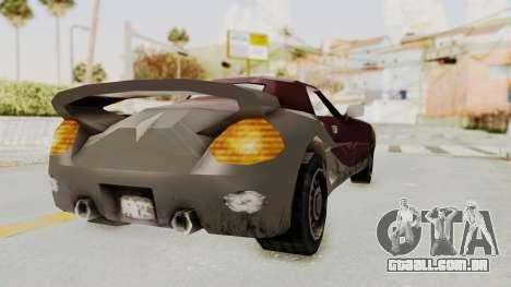 GTA 3 Yakuza Stinger para GTA San Andreas vista direita