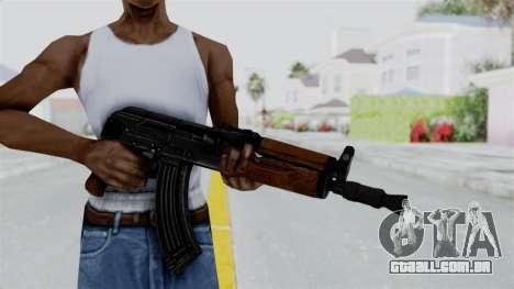 AK-47U para GTA San Andreas