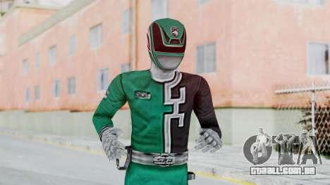 Power Rangers RPM - Green para GTA San Andreas