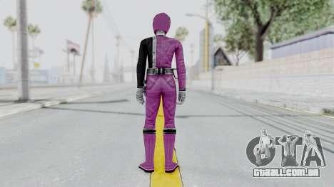 Power Rangers S.P.D - Pink para GTA San Andreas terceira tela
