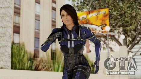 Mass Effect 3 Ashley Williams Ashes DLC Armor para GTA San Andreas