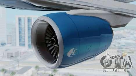 Boeing 777-2H6ER Malaysia Airlines para GTA San Andreas vista direita