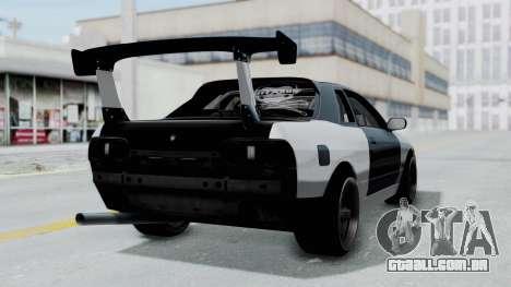Nissan Skyline R32 Drift (H.A.R) para GTA San Andreas esquerda vista