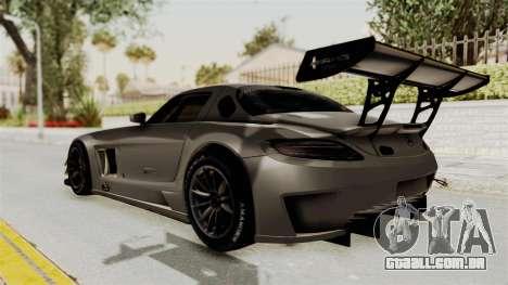 Mercedes-Benz SLS AMG GT3 PJ4 para GTA San Andreas esquerda vista