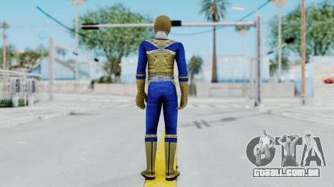Power Rangers Samurai - Gold para GTA San Andreas terceira tela