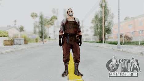 Manhunt 2 - Janitor para GTA San Andreas segunda tela