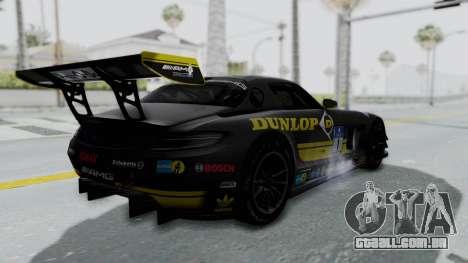 Mercedes-Benz SLS AMG GT3 PJ7 para as rodas de GTA San Andreas