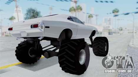 Ford Gran Torino 1972 Monster Truck para GTA San Andreas vista direita