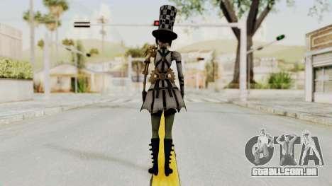 Alice LBL Hattress Returns para GTA San Andreas terceira tela