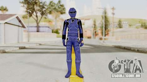 Power Rangers Jungle Fury - Blue para GTA San Andreas segunda tela