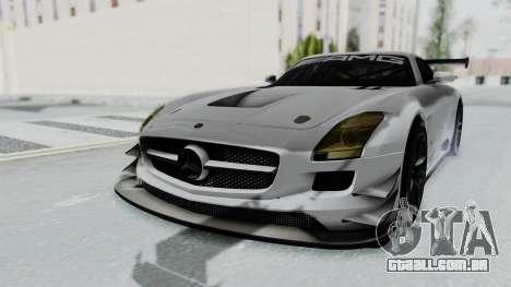 Mercedes-Benz SLS AMG GT3 PJ7 para GTA San Andreas traseira esquerda vista
