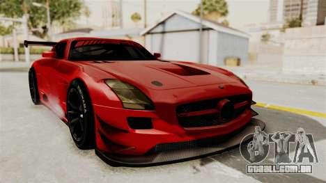 Mercedes-Benz SLS AMG GT3 PJ2 para GTA San Andreas