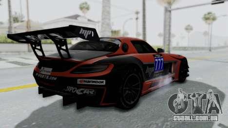 Mercedes-Benz SLS AMG GT3 PJ7 para GTA San Andreas interior
