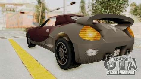 GTA 3 Yakuza Stinger para GTA San Andreas esquerda vista