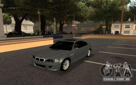 BMW M3 E46 Tunable para GTA San Andreas