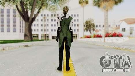 Mass Effect 2 Shiala para GTA San Andreas terceira tela