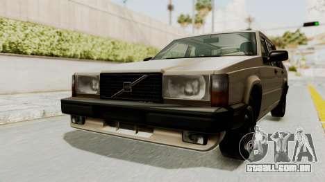 Volvo 740 para GTA San Andreas vista direita