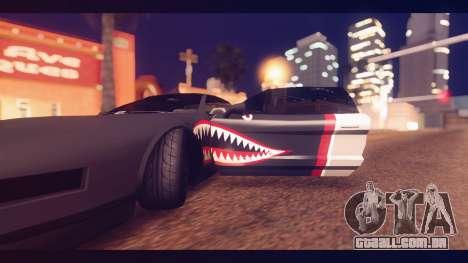 Infernus Shark Edition by ZveR v1 para GTA San Andreas vista traseira