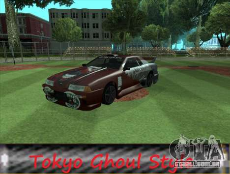 The Ghoul Elegy Vinyl (Beta) para GTA San Andreas