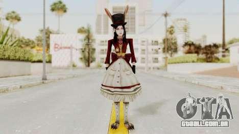 Alice LBL Madness Returns para GTA San Andreas segunda tela