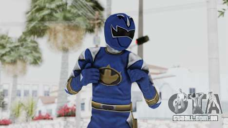 Power Rangers Dino Thunder - Blue para GTA San Andreas