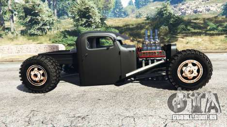 GTA 5 Dumont Type 47 Rat Rod vista lateral esquerda