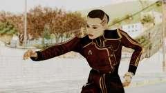 Mass Effect 3 Jack Official Skirt para GTA San Andreas