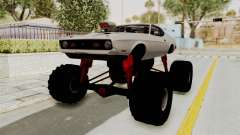 Ford Mustang 1971 Monster Truck