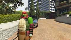 Teenage mutant ninja turtles para GTA 5
