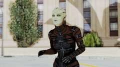 Mass Effect 1 Asari Clone Commando para GTA San Andreas