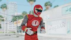 Power Rangers Ninja Storm - Red para GTA San Andreas